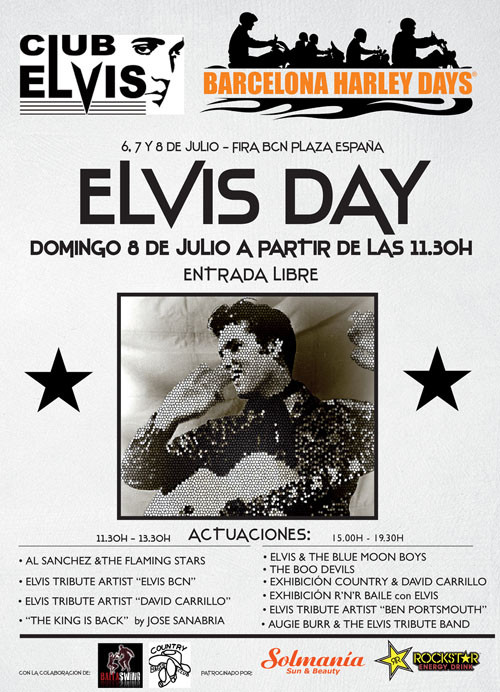Elvis Day en BCN Harley Days